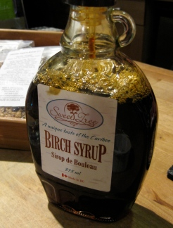 Birch Syrup from Quesnel, BC