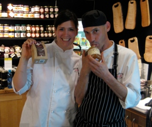 Pastry Chef Wendy Boys and Sous Chef Martin Roussel