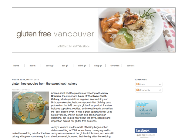 Gluten Free in Vancouver