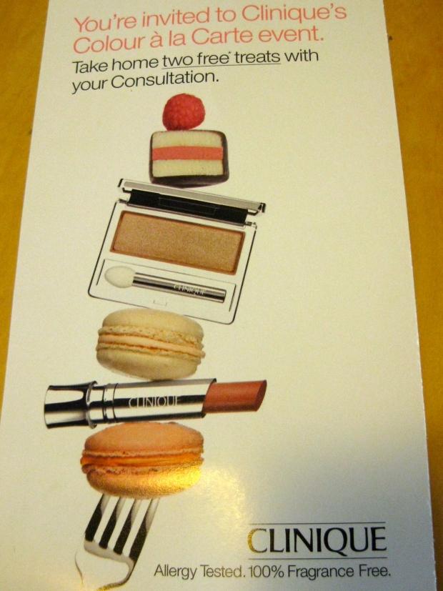 Macarons and makeup