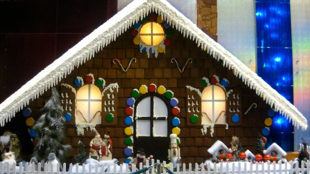 Largest Gingerbread House in Vancouver