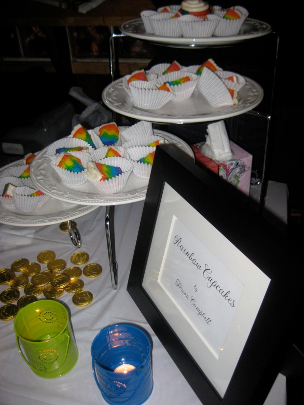 Rainbow cupcakes - I was SERIOUSLY impressed by these ones!