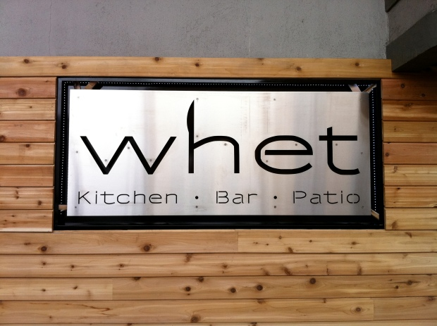 WHET Kitchen.Bar.Patio is NOW OPEN! 1517 Anderson Road, Granville Island