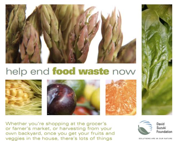 David Suzuki's help end food waste now guide
