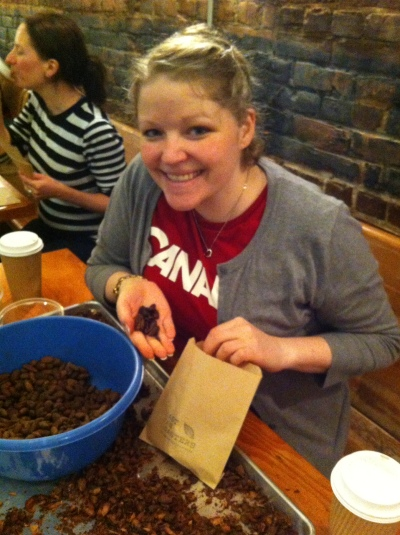 Jeanette at EastVanRoasters March 19 2014