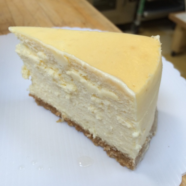 New York Cheesecake, a classic.