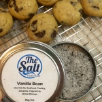 Vanilla bean salt by the Salt Dispensary